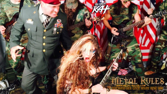 "Celtic Bob on Metal Rules features The Great Kat's ""TERROR"" Upcoming music video!"