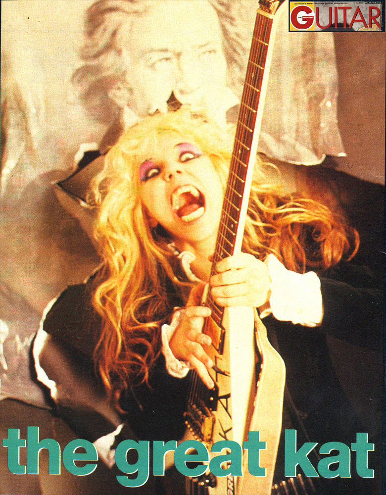 GUITAR MAGAZINE ENGLAND'S INTERVIEW WITH THE GREAT KAT!