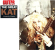 """GUITAR WORLD MAGAZINE'S INTERVIEW WITH THE GREAT KAT """"THE GREAT KAT INSANITY CLAWS""""! """"The Great Kat. Beethoven On Speed does to classical music what Jaws did for swimming. Her patented 'hyperspeed' soloing is cleaner and faster than ever."""" - Jeff Gilbert, Guitar World Magazine"""