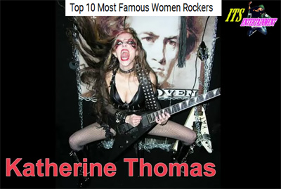 """ITS ENTERTAINMENT"" NAMES THE GREAT KAT ""TOP 10 MOST FAMOUS WOMEN ROCKERS""! ""When people hear The Great Kat, they come into a state of musical ecstasy. During her concerts, she is known for her thrash metal interpretations of well-known pieces of classical music."" https://youtu.be/Y35WgHMTr-0?t=2m5s"