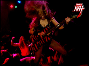 "Coming SUN, JAN. 4th on UBER ROCK: THE GREAT KAT'S ""GIG FROM HELL""! STAY TUNED for GREAT KAT INSANITY!"