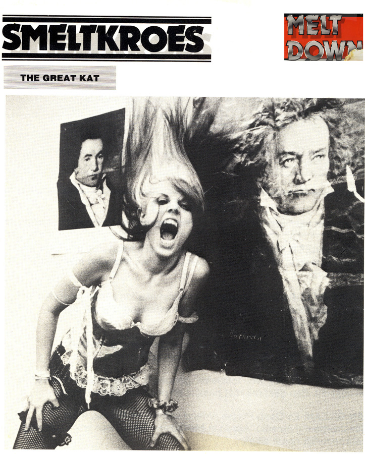 """MELT DOWN MAGAZINE (Dutch) INTERVIEW WITH THE GREAT KAT """"CRUCIBLE""""!"""