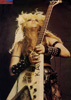 """METAL RENDEZVOUS MAGAZINE'S INTERVIEW WITH THE GREAT KAT """"!!! KAT KRAZY !!!"""" """"HYPERSPEED GUITARIST THE GREAT KAT BURNS HER WAY INTO THE OFFICES OF MRV [Metal Rendezvous]. JOHN STREDNANSKY BECOMES HER FIRST VICTIM."""""""