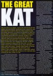 The Great Kat Interview in Powerplay Magazine