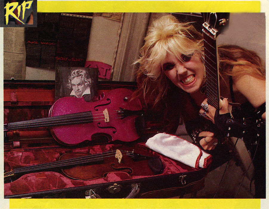 "RIP MAGAZINE'S INTERVIEW WITH THE GREAT KAT ""KAT - WORSHIP ME OR DIE!"" By S.L. Duff, RIP Magazine"