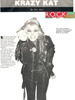 """ROCK BEAT Magazine's Interview with THE GREAT KAT """"KRAZY KAT""""! """"Kat: Is she a brilliant musician? Does she have delusions of grandeur? What do you think?"""" - Rock Beat Magazine"""