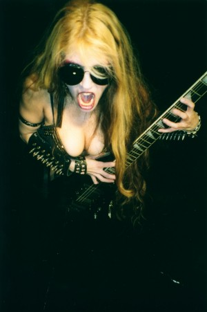 """EXCITE.COM's """"THE BUZZ LIST"""" INTERVIEW: THE GREAT KAT Classical Music/Speed Metal Shredder!!!!"""