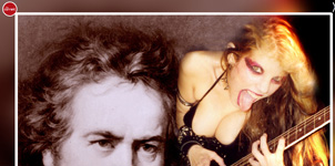 THE CURRENT FEATURES THE GREAT KAT REINCARNATION OF BEETHOVEN!