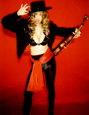 "EXCITE.COM's ""THE BUZZ LIST"" INTERVIEW: THE GREAT KAT Classical Music/Speed Metal Shredder!!!!"