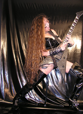 "NEW! METAL LIFE MAGAZINE'S INTERVIEW WITH THE GREAT KAT! ""Dominatrix with a literal splash of horror gore.""  - Terry Bunch, Metal Life Magazine"