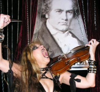 "DOMAIN CLEVELAND INTERVIEW WITH THE GREAT KAT! ""The Great Kat has been synonymous with blistering guitar shredding. Bow down and worship!"" - Larry Mac, Domain Cleveland"