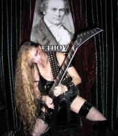 "SKYLIGHT WEBZINE'S INTERVIEW WITH THE GREAT KAT! ""The metal dominatrix that is into classical music, speed metal and S/M sex video scenes."" - Billy Yfantis, Skylight Webzine"