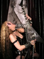 "NEW! THE METAL MINUTE INTERVIEW WITH THE GREAT KAT! ""The Great Kat has spent much time trying to resurrect the respectability factor of these timeless masterpieces by ushering their complex note sequences via modern distortion and blinding guitar shred."" - Ray Van Horn, Jr., The Metal Minute"
