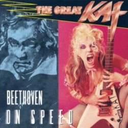 "LA RELIGION DEL ROCK PESADO NAMES ""BEETHOVEN ON SPEED"" CD ""10 ESSENTIAL TRASH METAL ALBUMS""! ""THE GREAT KAT - Beethoven on Speed. Great Kat alone has added the virtuosity of Marty Friedman, the perfectionism and complexity of Yngwie. Beethoven On Speed, a real clinic that would make the most dexterous on the six strings hesitate.  It is metal, thrash and neo-classical shred, devastating scholarly - perfect fusion of two apparently opposite musical forms, but that without a doubt can converge at the moment of extreme complexity."" - La Religion del Rock Pesado"