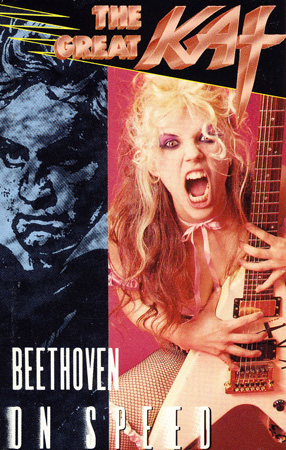 "The Great Kat's ""BEETHOVEN ON SPEED""!"
