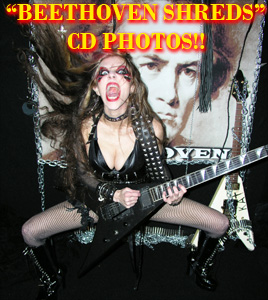 """BEETHOVEN SHREDS"" CD PHOTOS!"