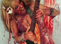 "ROTATING CORPSE FEATURES THE GREAT KAT! ""The Great Kat is a Long Island metal shredder who prefers the works of Beethoven and Wagner to lay into. Love her."" - Brittany, Rotating Corpse"