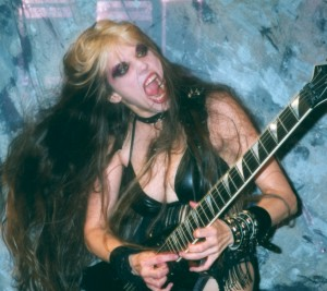 """HOLLYWOOD2YOU.TV'S Review of """"EXTREME GUITAR SHRED"""" DVD!!!  """"The Great Kat, a shred guitarist playing classical music with lightning fast licks. If you like guitar, blood and guts, then check it out. It's got 6 Super Shred Videos to keep you pumped!"""" - John Reed, Hollywood2You.TV"""
