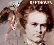 JAMES from Chesterfield, VA is THE WINNER of THE GREAT KAT METAL BEETHOVEN CONTEST!!