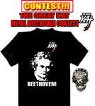 NEW! JAMES from Chesterfield, VA is THE WINNER of THE GREAT KAT METAL BEETHOVEN CONTEST!!