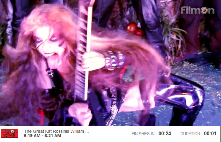 """FILMON HORROR NETWORK IS BROADCASTING THE GREAT KAT'S ROSSINI'S """"WILLIAM TELL OVERTURE"""""""