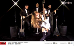 "FILMON HORROR NETWORK IS BROADCASTING THE GREAT KAT'S ROSSINI'S ""WILLIAM TELL OVERTURE"" MUSIC VIDEO!"