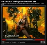 "BLENDER MAGAZINE'S ""MOST POPULAR VIDEOS"" FEATURES THE GREAT KAT'S ""THE FLIGHT OF THE BUMBLE-BEE"" Music Video!"