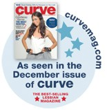 """NEW! CURVE MAGAZINE FEATURES THE GREAT KAT IN CURVE MAGAZINE'S """"GIFT GUIDE 09""""! """"Get The Great Kat's Beethoven's Guitar Shred DVD, a hot girl doing metal to classical."""" - Curve Magazine (Dec. 09)"""