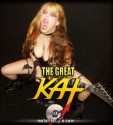 "METAL TEMPLE'S INTERVIEW with THE GREAT KAT! ""When you are dealing with the 'ultimate female guitar shredder', a Heavy Metal mistress, the only thing you have to do is bow and obey."" - Yiannis Z., Metal Temple"
