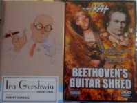 "NEW! OREGONLIVE.COM FEATURES ""BEETHOVEN'S GUITAR SHRED"" DVD IN ""ONE OF THESE THINGS IS NOT LIKE THE OTHER: CHAPTER II""! ""By the way, the track list for The Great Kat's Beethoven Guitar Shred is: The Flight of the Bumble-Bee, Torture Techniques, Paganini's Caprice #24, Blood, Beethoven's 5th Symphony, Islamofascists, Bach's Brandenburg Concerto #3""- By Ryan White, The Oregonian"