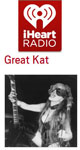 Download The Great Kat's SHRED/CLASSICAL Music on iHEART RADIO!