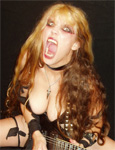 "NEW! THE GREAT KAT IN YUPPIEPUNK! ""KATS INCREDIBLE!"" ""This Juilliard-trained violinist took famous classical pieces and turned them into thrash metal guitar opuses. She is known for her ridiculously quick playing."" - YuppiePunk"