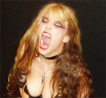 """NEW! THE GREAT KAT IN YUPPIEPUNK! """"KATS INCREDIBLE!"""" """"This Juilliard-trained violinist took famous classical pieces and turned them into thrash metal guitar opuses. She is known for her ridiculously quick playing."""" - YuppiePunk"""