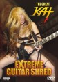 "CHICAGO MUSIC GUIDE Review of ""EXTREME GUITAR SHRED"" DVD! ""The Great Kat (Juilliard grad Katherine Thomas) is one of the most bizarre musicians performing today. She is a double virtuoso, on guitar and violin, and displays her talents in a heavy, dark-themed context on her latest 'Extreme Guitar Shred' DVD release. She has chops to burn."" - By Mike O'Cull, Chicago Music Guide"