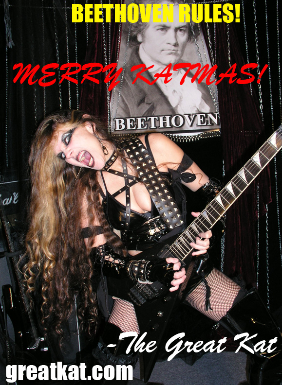 MERRY KATMAS from THE GREAT KAT!