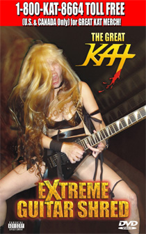 CALL The Kat Store at 1-800-KAT-8664 TOLL FREE (U.S. & CANADA Only) to place your GREAT KAT MERCHANDISE ORDER!!