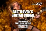 &quot;DVD MAIN MENU&quot; from The Great Kat's NEW &quot;BEETHOVEN'S GUITAR SHRED&quot; DVD!!