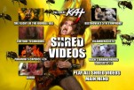 """DVD SHRED VIDEOS MENU"" from The Great Kat's NEW ""BEETHOVEN'S GUITAR SHRED"" DVD!!"