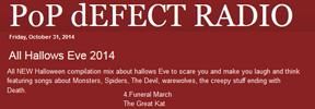 "POP DEFECT RADIO'S ""ALL HALLOWS EVE 2014"" SHOW FEATURES THE GREAT KAT'S ""FUNERAL MARCH"" from ""BEETHOVEN ON SPEED""!"