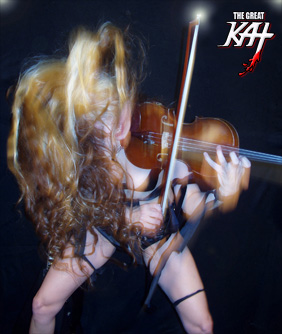 iTUNES PREMIERES THE GREAT KAT'S SHREDCLASSICAL RINGTONES – BRING BEETHOVEN, BACH, PAGANINI TO YOUR IPHONE!!