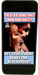 THE GREAT KAT'S SHREDCLASSICAL RINGTONES! THE GREAT KAT RINGTONES COMING in AUGUST!!