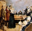 "In 1692, during the Salem Witch Trials, the malicious, superstitious and ignorant Puritans in Salem, Massachusetts hanged 19 INNOCENT people as ""WITCHES"" and imprisoned 150 more on ""WITCHCRAFT"" charges!"