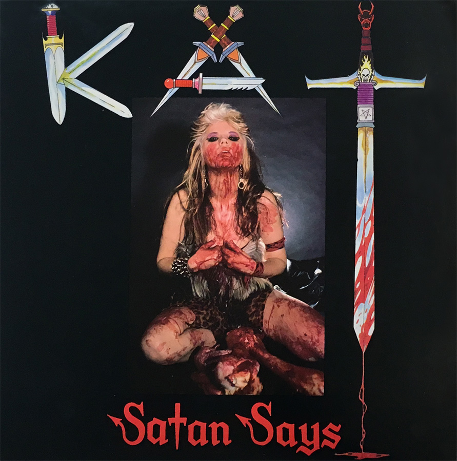 "THE GREAT KAT'S ""SATAN SAYS"" VINYL RECORD"