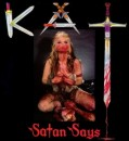 "CLICK FOR THE GREAT KAT'S ""SATAN SAYS"" VINYL RECORD"