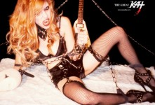 "HMV HEAVY ROCK AND METAL NEWS (JAPAN) FEATURES THE GREAT KAT'S ""BEETHOVEN'S GUITAR SHRED"" DVD! ""The Great Kat Hyper classic Queen of Beethoven's '5th.'"" - HMV Japan"