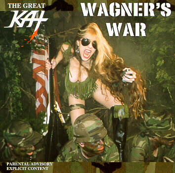 "THE GREAT KAT ""WAGNER'S WAR"" CD"