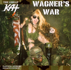 "NEW! INK 19's REVIEW of GREAT KAT'S ""WAGNER'S WAR"" CD! ""The only woman who can make Gene Simmons seem like a pansy wallflower and she's a technically superb guitar player to boot. She dons a camouflage bikini and New York Dolls warpaint to f**king shred 24-7."" - Matthew Moyer, Ink 19"