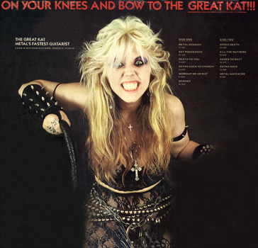 "The Great Kat's ""WORSHIP ME OR DIE!"" CD"