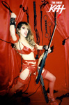RED HOT GODDESS OF SHRED! AUTOGRAPHED HOT KAT 8x10 COLOR PHOTO $6